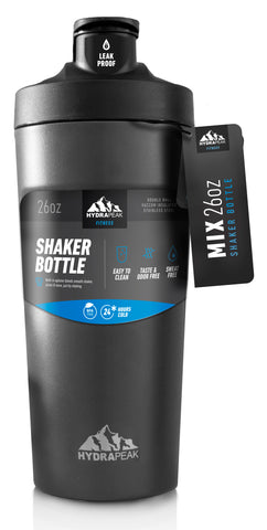 26oz Shaker Bottle - Black
