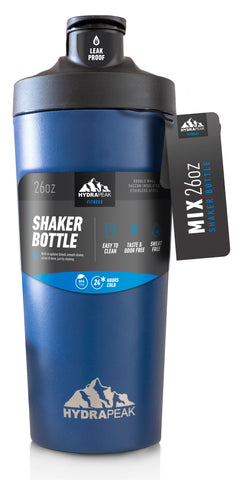 26oz Shaker Bottle - Cobalt