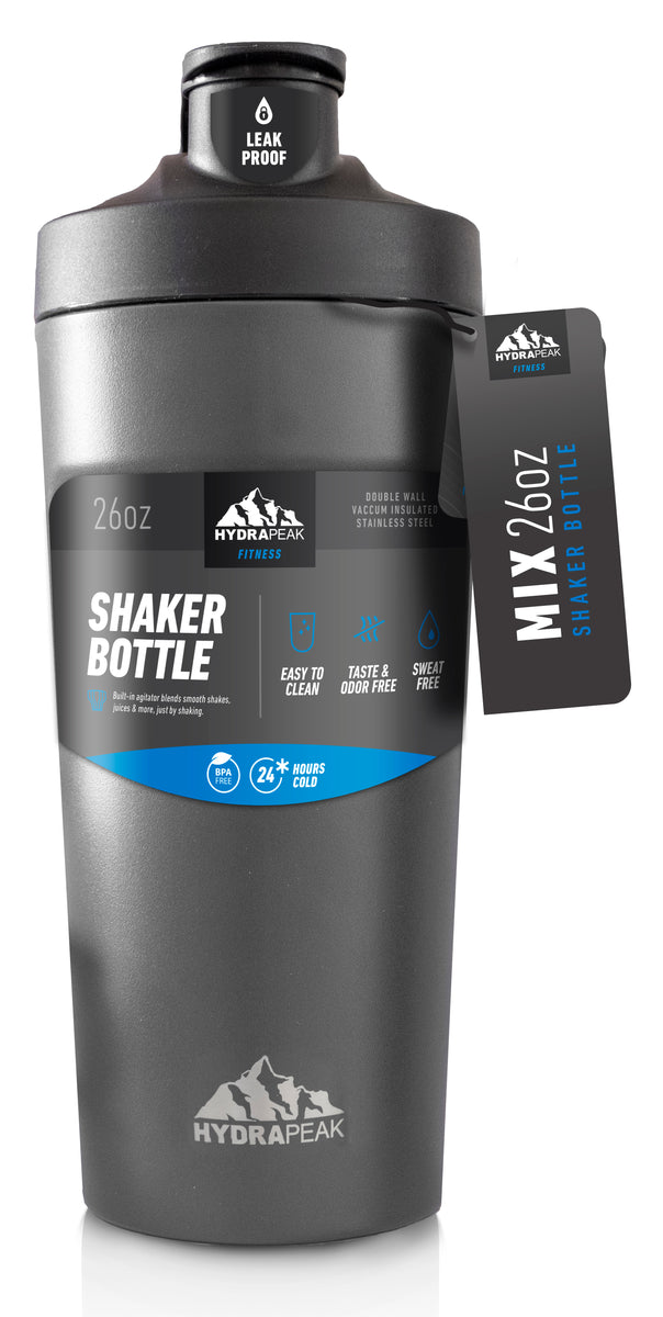 26oz Shaker Bottle - Graphite