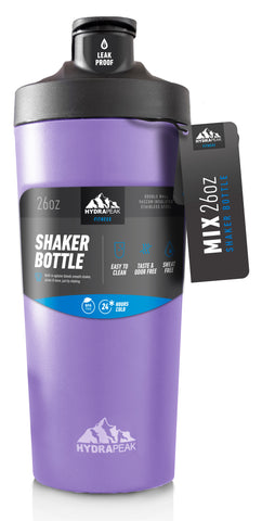 26oz Shaker Bottle - Lilac