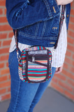 Small Over the Shoulder Bohemian Rising  International Fair Trade Purse