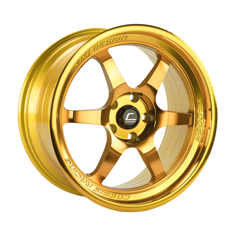 Cosmis Racing XT-006R Hyper Gold Wheel 18X9 5X114.3 +35MM Offset