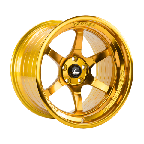Cosmis Racing XT-006R Hyper Gold Wheel 18X9.5 5X114.3 +10MM Offset