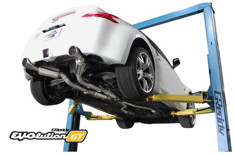 GReddy EVOlution GT Dual Muffler Cat-Back Exhaust for Nissan 370Z