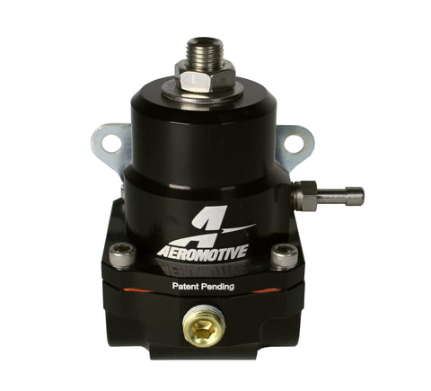 Aeromotive Adjustable Regulator - 35-75PSI - .313 Valve - (2) -08 Inlets/-08 Return
