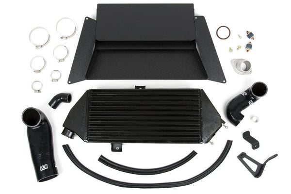 GrimmSpeed Top Mount Intercooler Kit Thermal Dispersant Black Coating For 2005-2009 Legacy GT