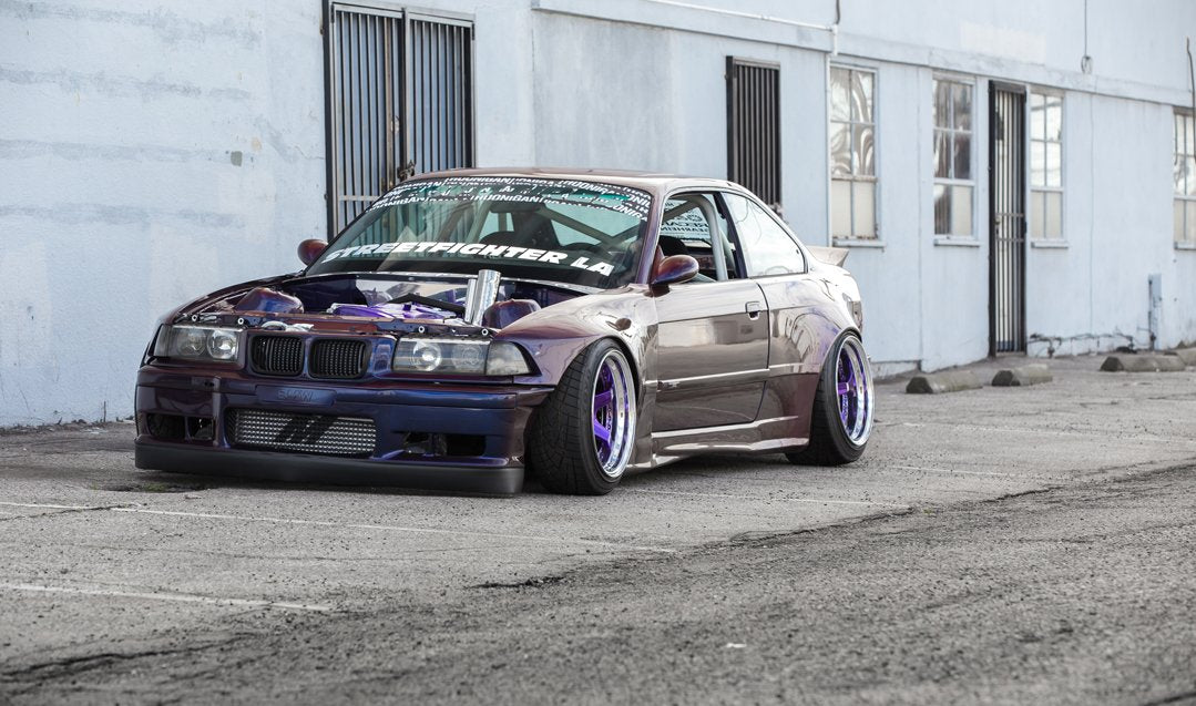 STREETFIGHTER LA BMW E36 Widebody Kit | Built Not Bought