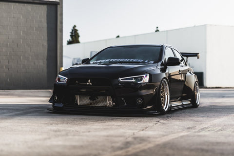 STREETFIGHTER LA Mitsubishi Evo X Widebody Kit