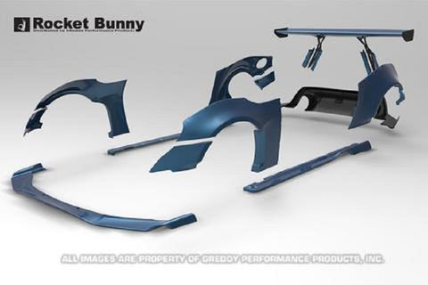 Rocket Bunny V1 Side Skirts (Only) for 2013+ BRZ/FRS