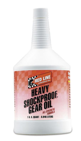 Red Line Heavy ShockProof Gear Oil 1QT