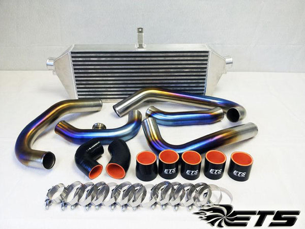 ETS Burnt Titanium Front Mount Intercooler Piping for 2002-2005 WRX/STI