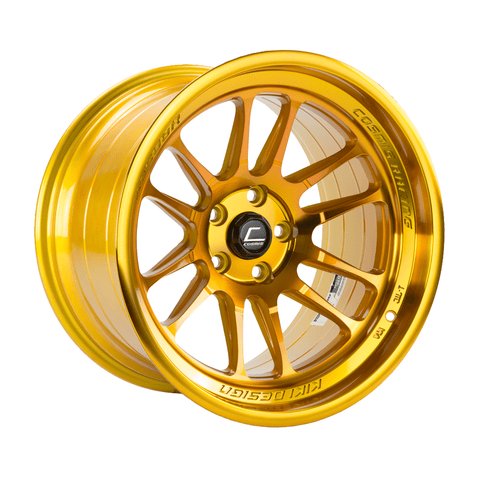 Cosmis Racing XT-206R Hyper Gold Wheel 18X9.5 5X114.3 +10MM Offset