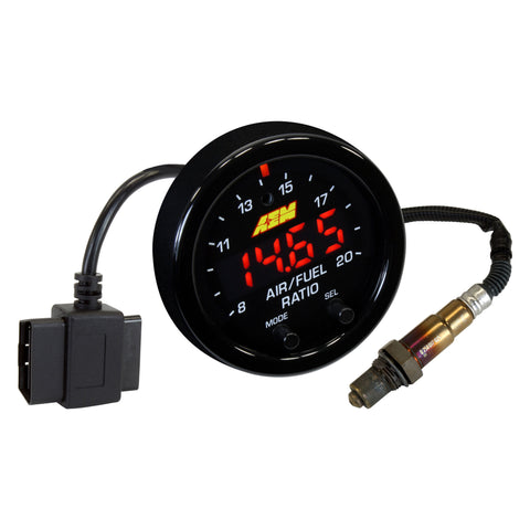 AEM Electronics X-Series Wideband AFR Gauge w/ OBDII Connectivity