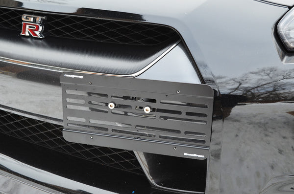 GrimmSpeed License Plate Relocation Kit For 2011+ Nissan GT-R