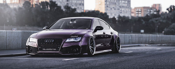 Clinched Flares Widebody Kit for Audi A7, S7 and RS7 2010+