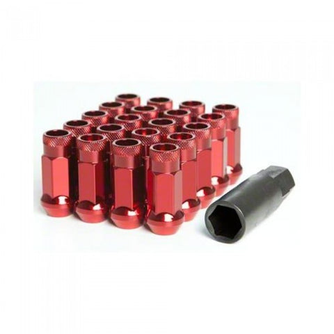 Muteki SR48 Open End Lug Nuts Red 12x1.50