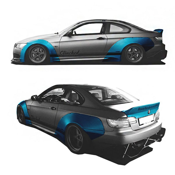 Clinched Flares Wide Body for BMW E92 3 Series / M3 Coupe 2007-2013
