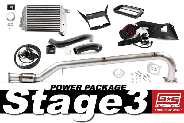 GrimmSpeed Stage 3 Power Package For 2015+ WRX