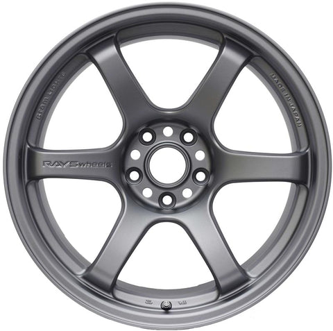 Rays Gram Lights 57DR 18x9.5 (+12) 5x114.3 Gun Blue