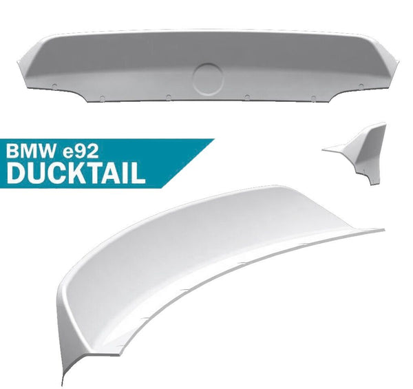 Clinched Flares Ducktail Spoiler for BMW 3-Series/M3 E92