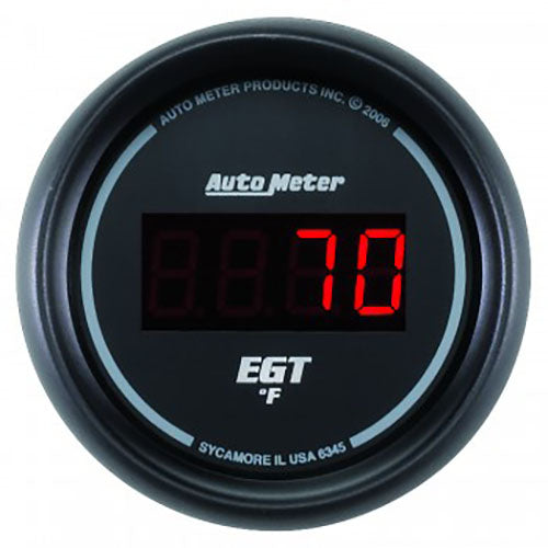 Autometer 52mm Exhaust Gas Temp Gauge 0-2000*F