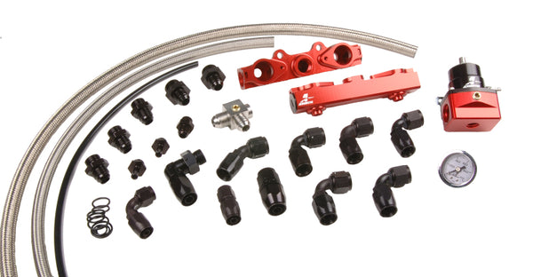 Aeromotive Side Feed Fuel Rail System For 2004-2006 STI