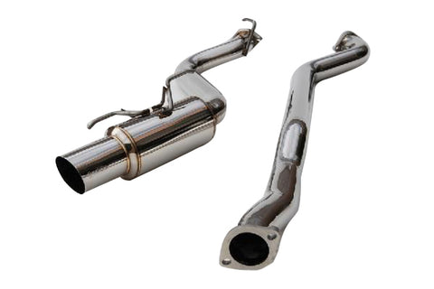 Invidia N1 Stainless Tip Racing Catback Exhaust For 2008-2014 WRX Hatch