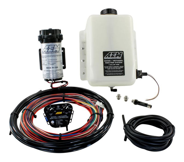 AEM Water / Methanol Injection Kit V2 (up to 35psi) w/ 1 Gallon Tank