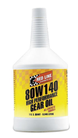 Red line 80W-140 GL-5 GEAR OIL