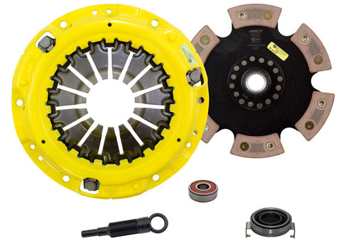 ACT Heavy Duty Race Rigid 6 Pad Disc Clutch Kit for  2006-2014, 2015+ WRX / 2005-2009 Legacy GT / 2006-2008 Forester XT