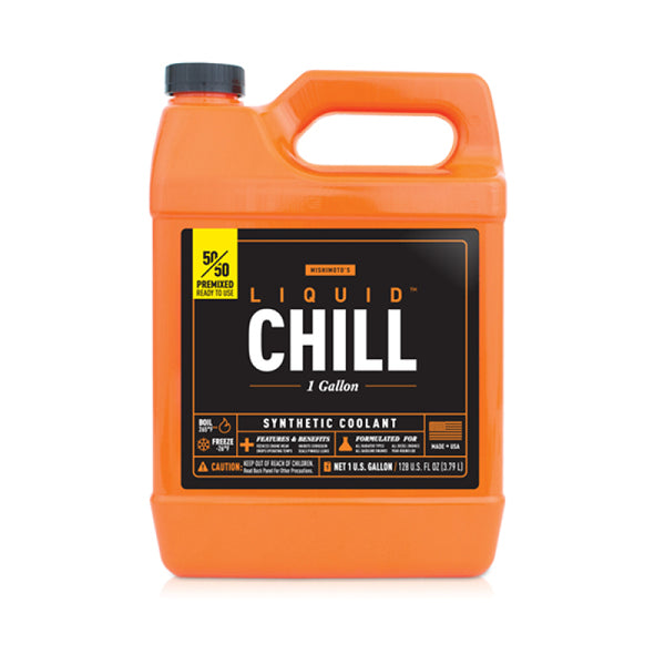 Mishimoto Liquid Chill Synthetic Engine Coolant Premixed 50/50 (1 gal.)