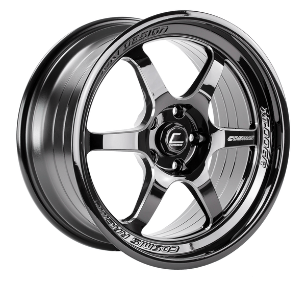 Cosmis Racing XT-006R Black with Machined Spoked Wheel 18X9 5X114.3 +30MM Offset