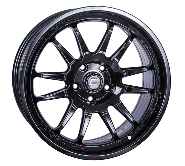 Cosmis Racing XT-206R Black Wheel 17X8 5X100 +30MM Offset