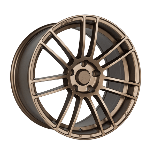 Stage Wheels Belmont 18x9.5 +38mm 5x114.3 CB 73.1 Matte Bronze