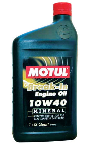 Motul Classic Break-In Oil 10W40 1QT