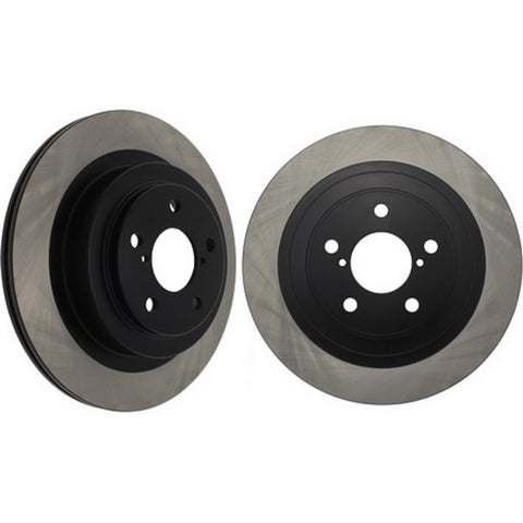 Centric Premium Brake Rotors Rear (Pair) for 2006-2007 WRX / 2005-2009 Legacy GT