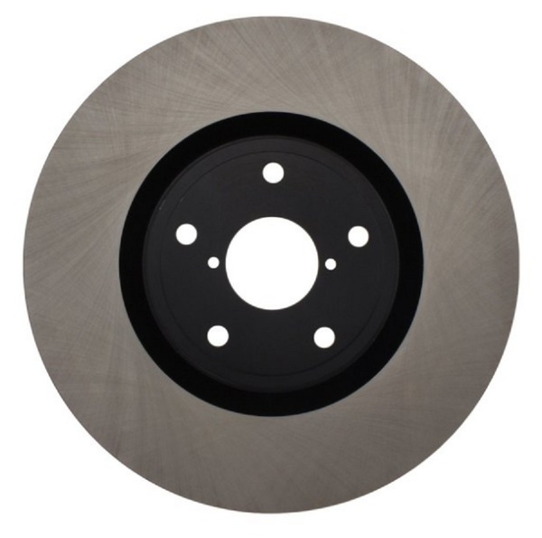 Centric Premium Brake Rotors Rear (Pair) for 2005-2007 STI