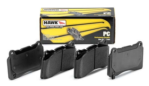 Hawk Performance Front Ceramic Brake Pads or 2004-2017 STI / 2003-2006 Evo 8/9 / 2008-2015 Evo X
