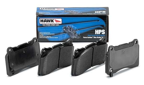 Hawk Performance Rear HPS Brake Pads For 2004-2017 STI / 2003-2006 Evo 8/9