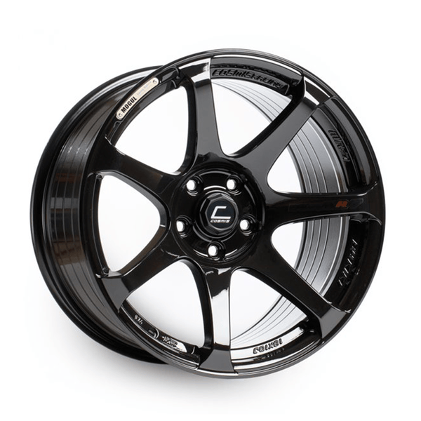Cosmis Racing MR7 Black Wheel 18X9 5X100 +25MM Offset