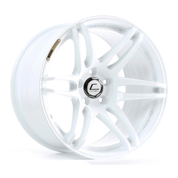 Cosmis Racing MRII White Wheel 18X8.5 5X114.3 +22MM Offset