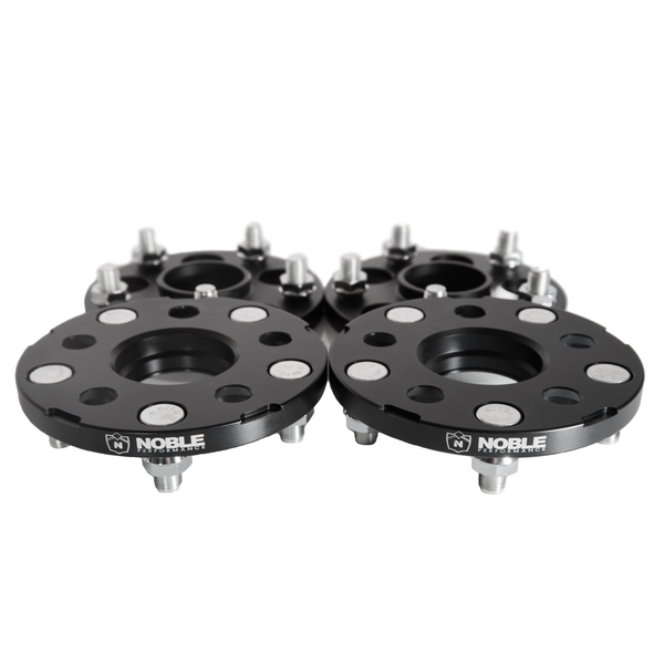 Noble Performance Conversion Spacers 5x100 to 5x114.3 15mm CB:56.1 Black For WRX / STI / LEGACY GT / BRZ / FR-S