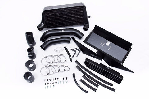 Process West Black Verticooler Top Mount Intercooler For 2015+ WRX