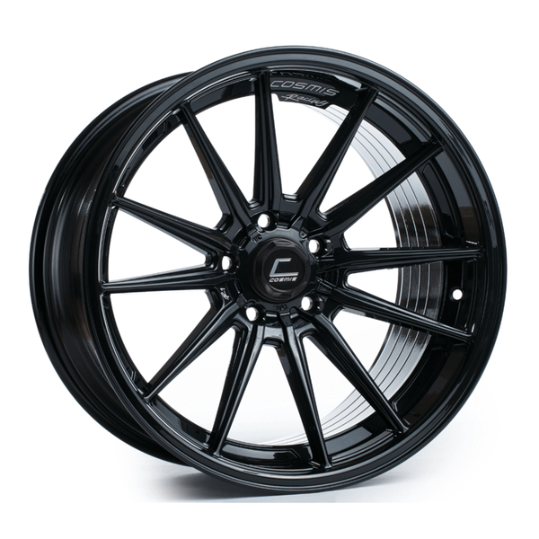 Cosmis Racing R1 Black Wheel 18X9.5 5X120 +35MM Offset