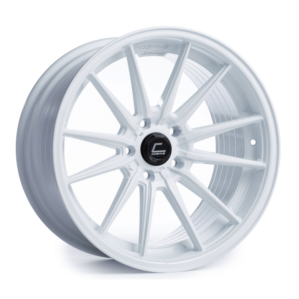 Cosmis Racing R1 White Wheel 18X8.5 5X120 +35MM Offset