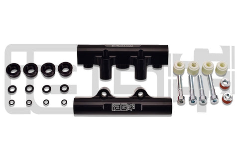 IAG Performance Black Side Feed to Top Feed Fuel Rail Conversion Kit for 2004-2006 STI / 2005-2007 Legacy GT / 2004-2005 Forester XT