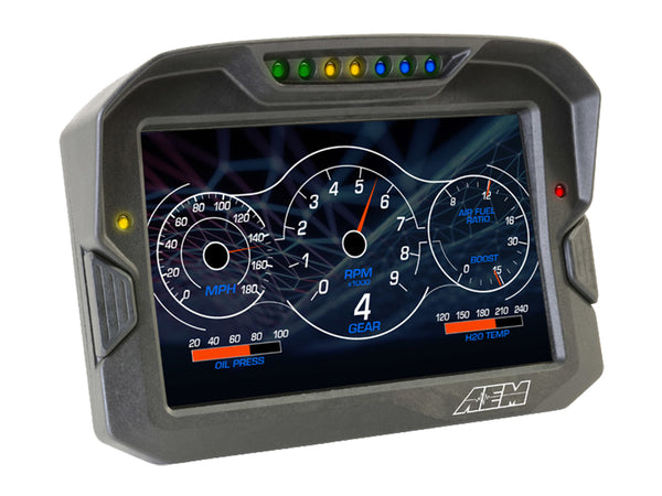 AEM CD-7G Carbon Digital Dash Display Non-Logging / GPS Enabled