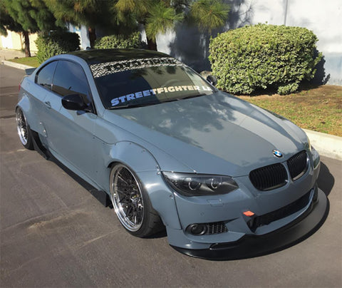 STREETFIGHTER LA BMW E92 M-Tech Front Lip