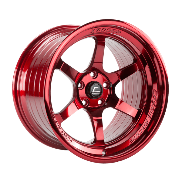 Cosmis Racing XT-006R Hyper Red Wheel 18X9.5 5X114.3 +10MM Offset