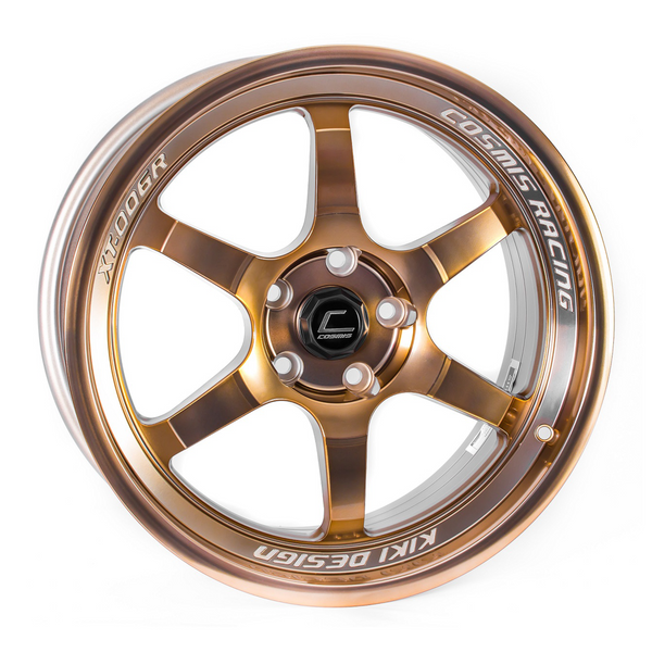 Cosmis Racing XT-006R Hyper Bronze Wheel 18X9 5X114.3 +30MM Offset